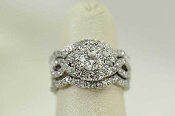 75ct round neil lane diamond ring with framing wedding bands in white gold 7.JPG
