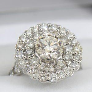 Custom Double Halo Engagement Ring with 3ct Diamond center VS JK.JPG