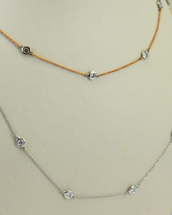 Diamonds By The Yard Necklaces In White Rose Gold 5.JPG