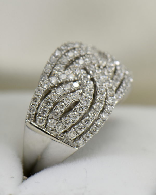 diamond right hand ring with basket weave pattern 1.37ctw white gold 2.JPG