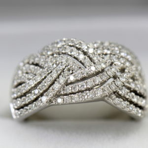 diamond right hand ring with basket weave pattern 1.37ctw white gold 4.JPG