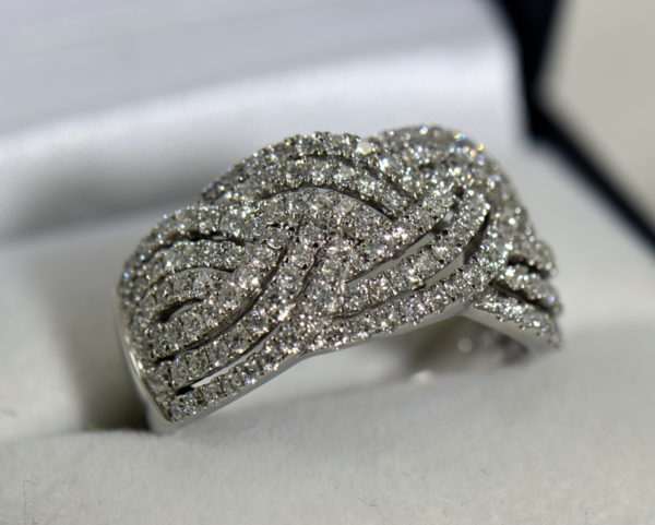diamond right hand ring with basket weave pattern 1.37ctw white gold 6.JPG