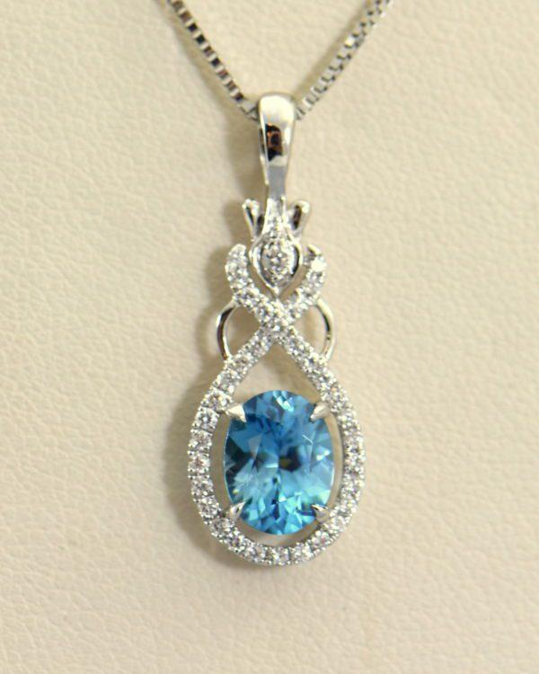 custom december birthstone blue zircon pendant in white gold 3.JPG
