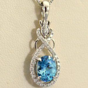 custom december birthstone blue zircon pendant in white gold 4.JPG