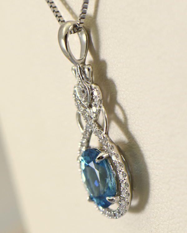 custom december birthstone blue zircon pendant in white gold 5.JPG