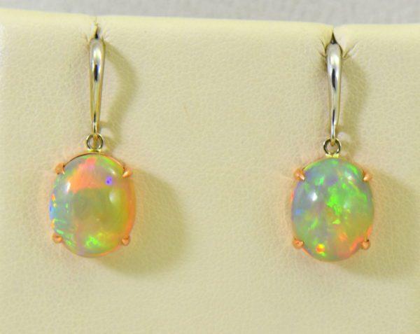 ethiopian opal earrings in rose and white gold 2.JPG