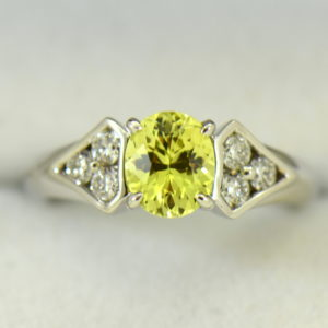 golden yellow chrysoberyl engagement ring with diamond shield accents 5.JPG