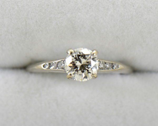 mid century .80ct vs k diamond engagement ring in white gold 2.JPG
