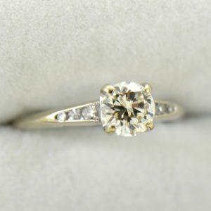 mid century .80ct vs k diamond engagement ring in white gold 3.JPG