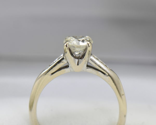 mid century .80ct vs k diamond engagement ring in white gold 5.JPG