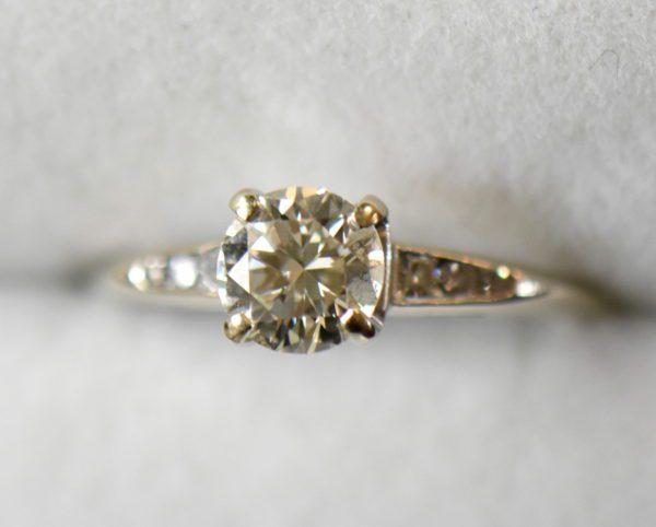 mid century .80ct vs k diamond engagement ring in white gold 6.JPG