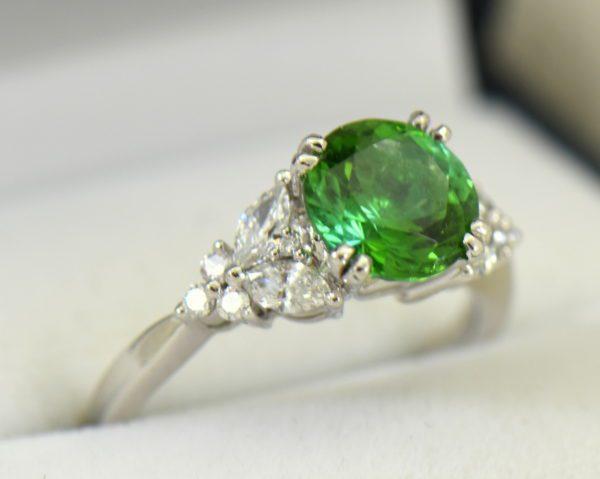 round green tourmaline diamond engagement ring in white gold 2.JPG