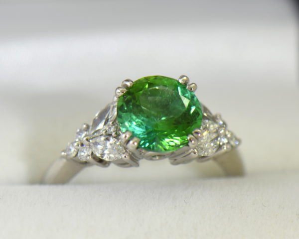 round green tourmaline diamond engagement ring in white gold 5.JPG